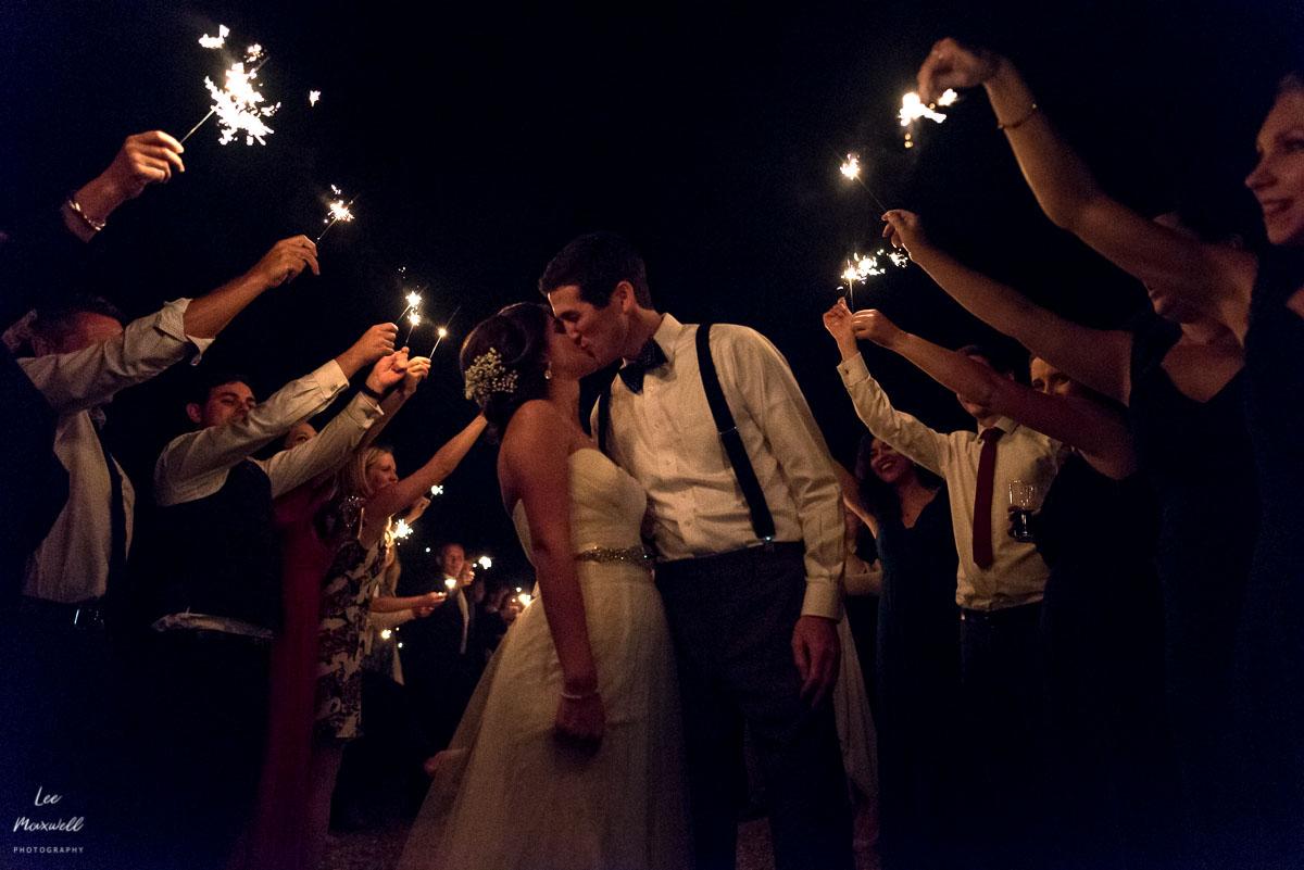 Cranberries Hideaway wedding