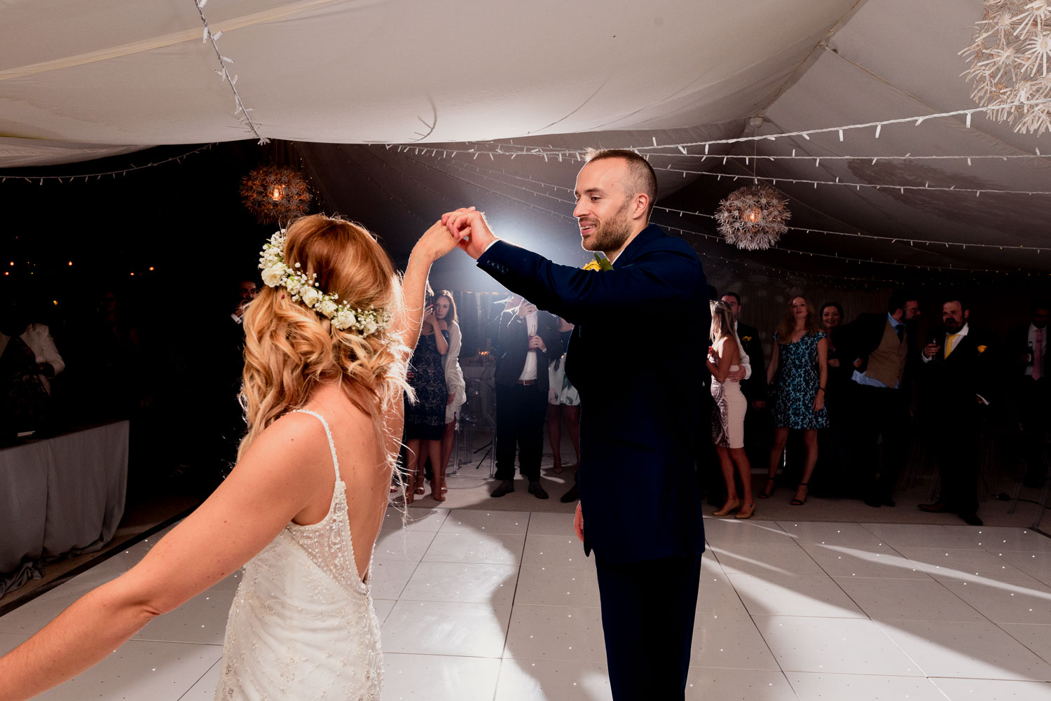First dance at Ever After Marquee