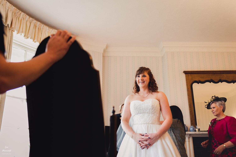 First look at wedding dress