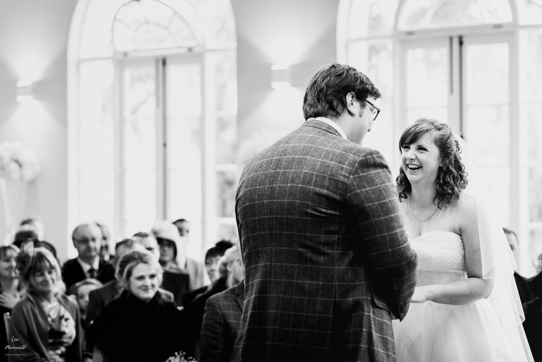 Happy wedding ceremony at Deer Park