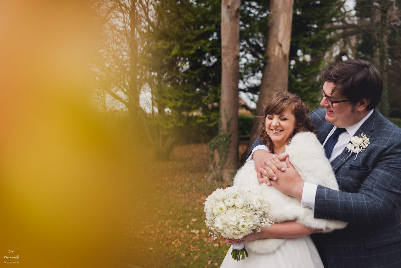 Deer Park wedding portrait