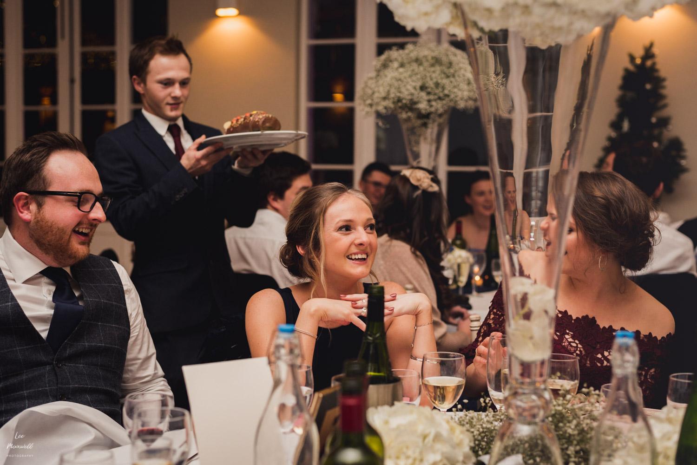 Bridesmaid surprise