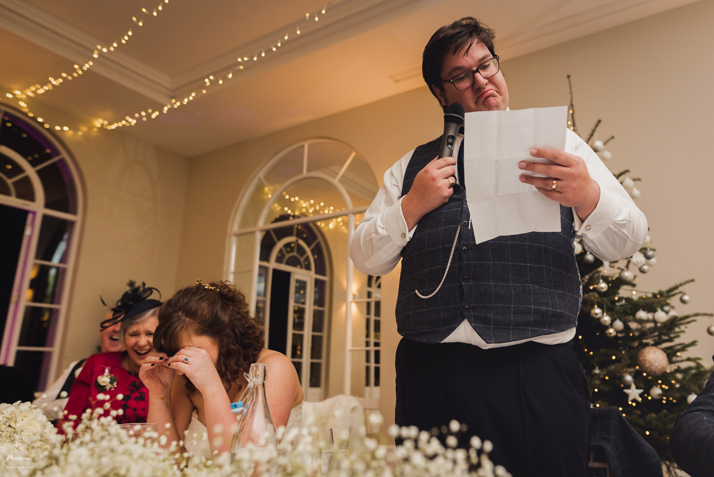 Great groom's speech