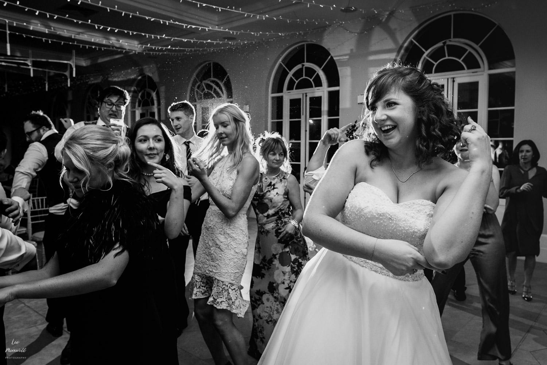 Whigfield dancing at wedding