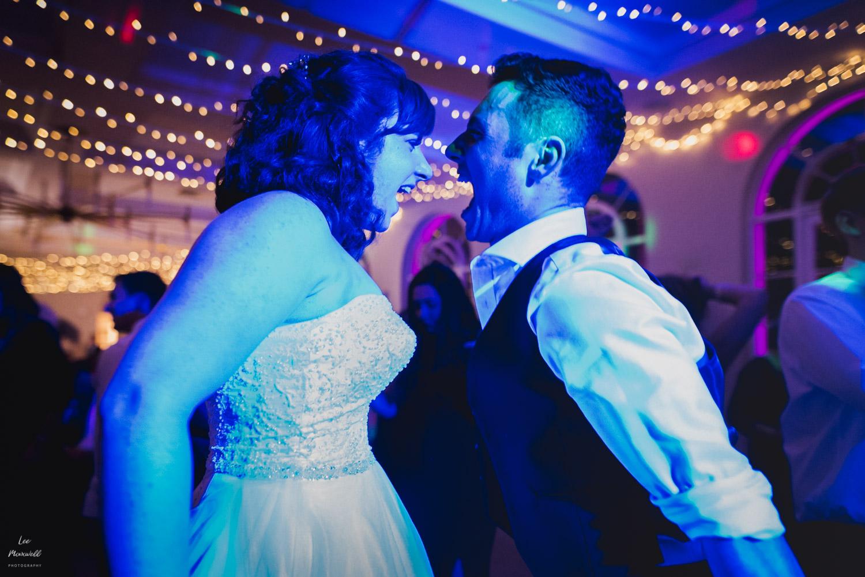 Wedding bride dance off