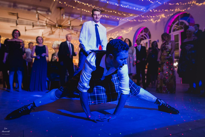 Wedding guest dance off