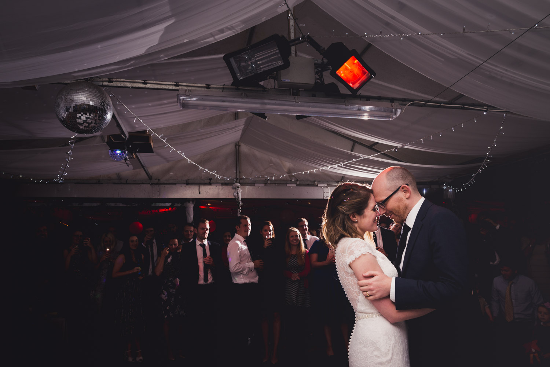 DIY wedding first dance