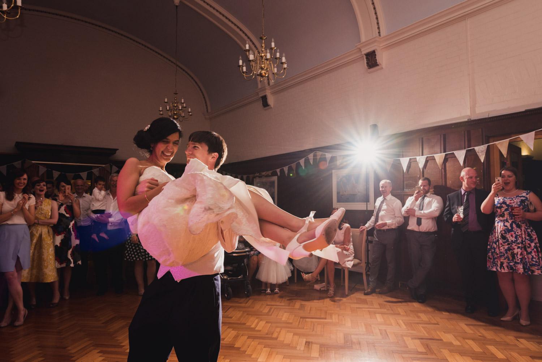 Choreographed first dance at Devon wedding