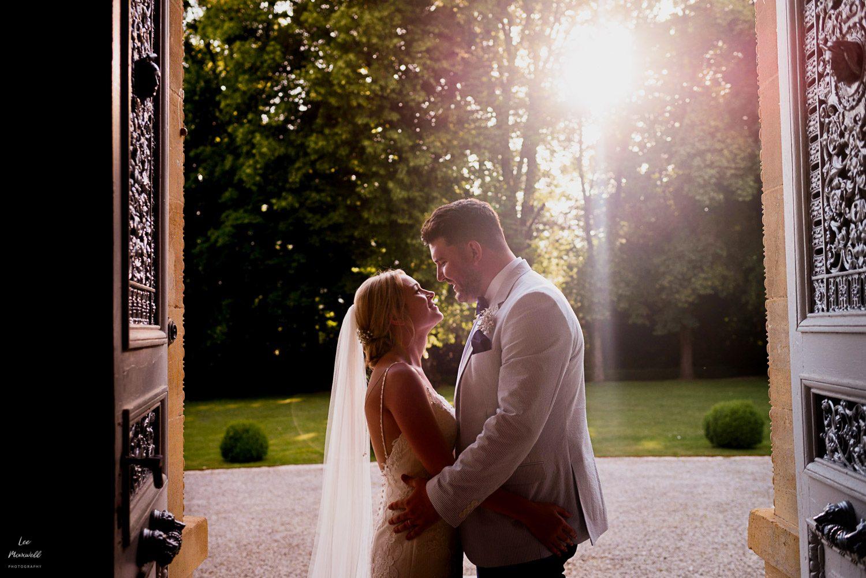 Wedding photography at Chateau La Durantie
