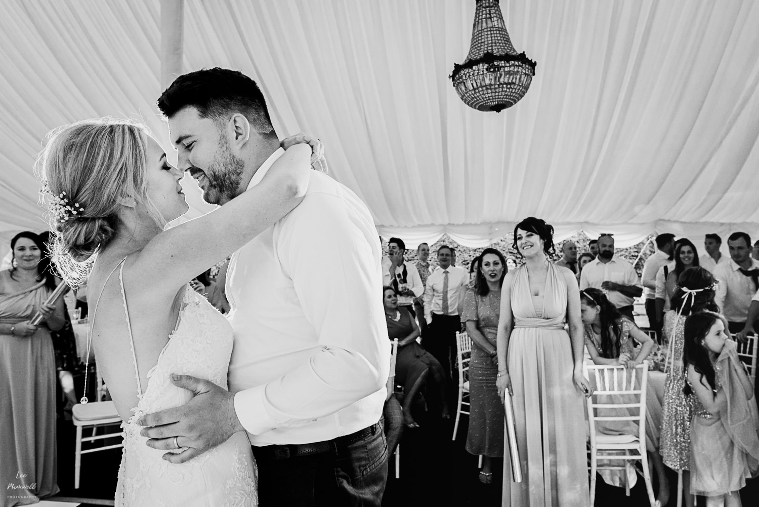 First dance at Chateau La Durantie wedding