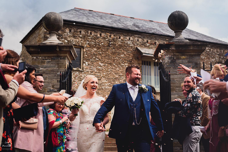 Wedding photography at Shilstone Devon