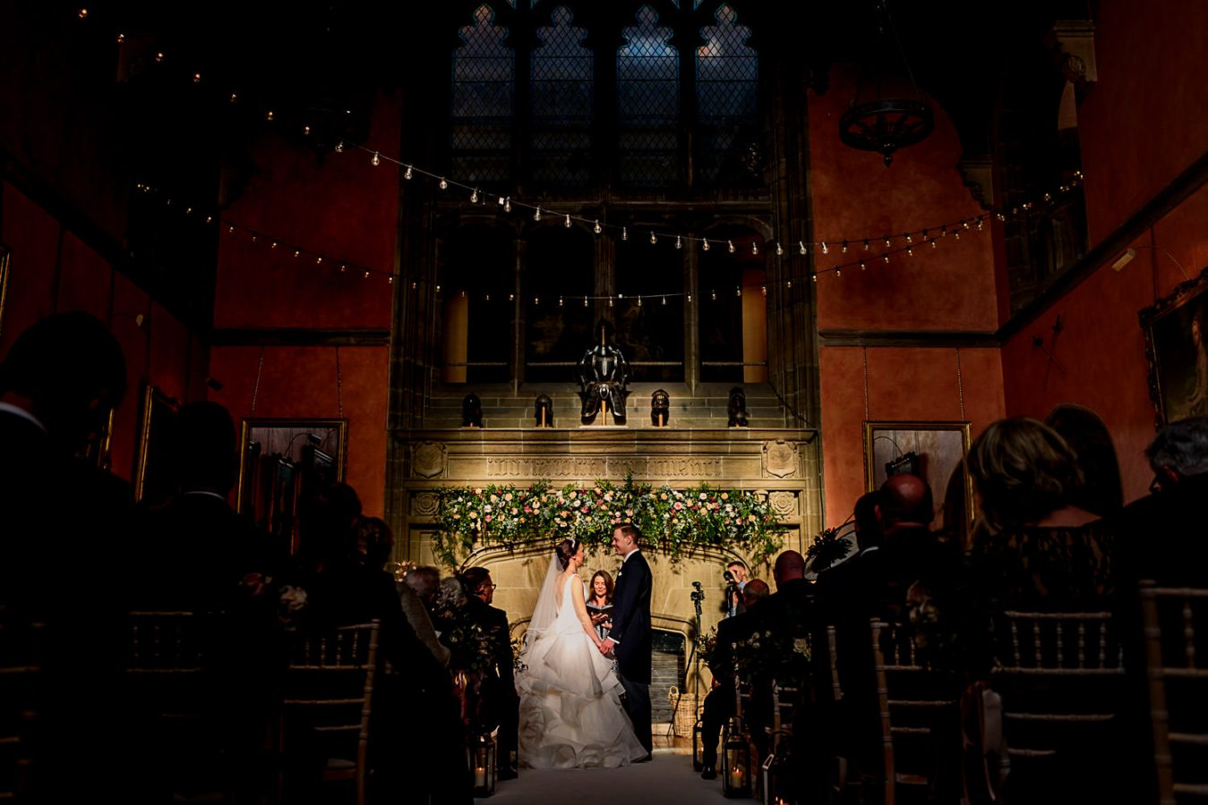 Wedding ceremony at Cowdray estate
