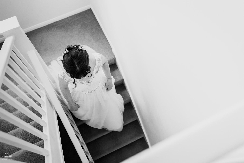 Bride's exit