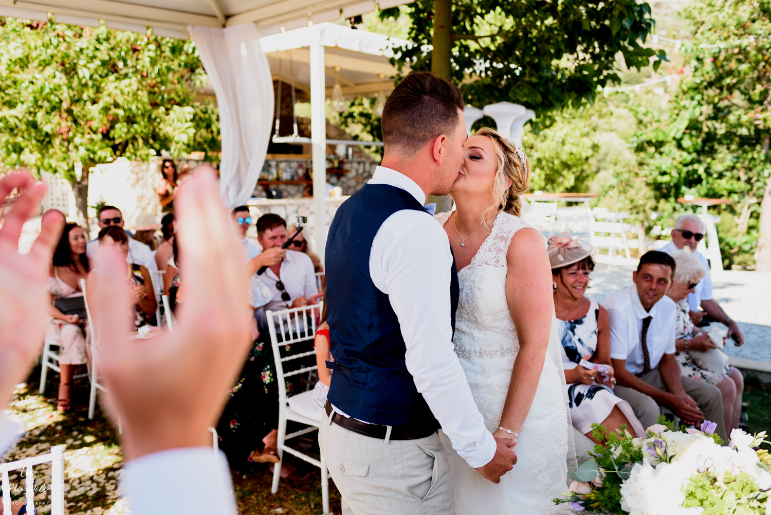 Destination wedding Kefalonia