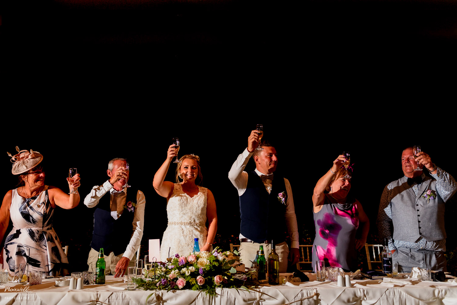 Wedding toast in Greece