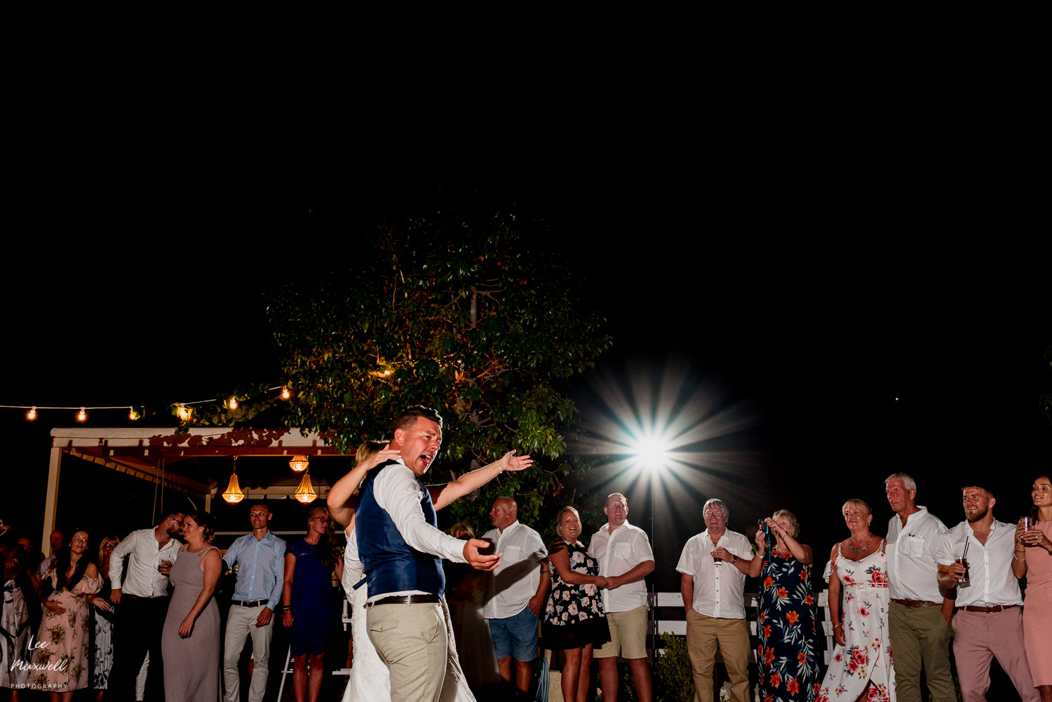 Dancing in greek wedding