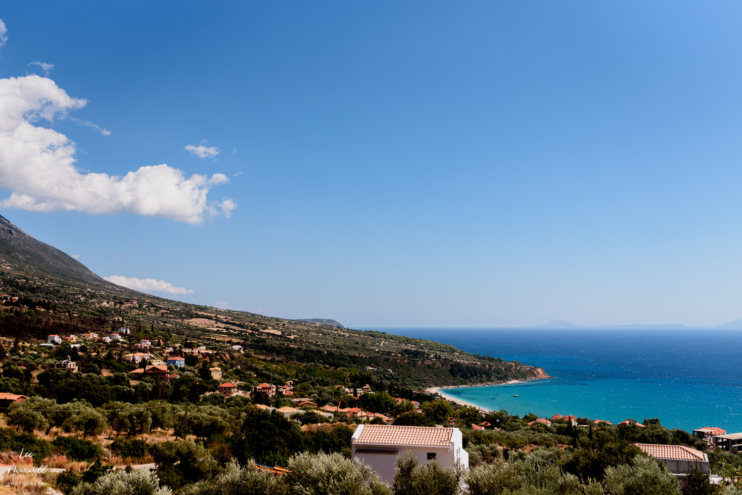 View from Andromeda Centre, Kefalonia