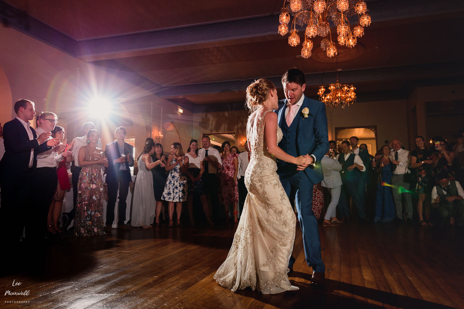 First dance at Woolacombe Bay Hotel