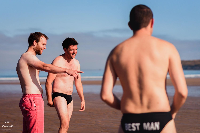 Best man swimming trunks