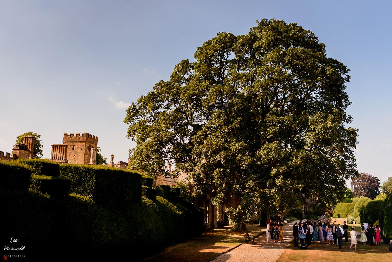 Sudeley Castle on wedding day