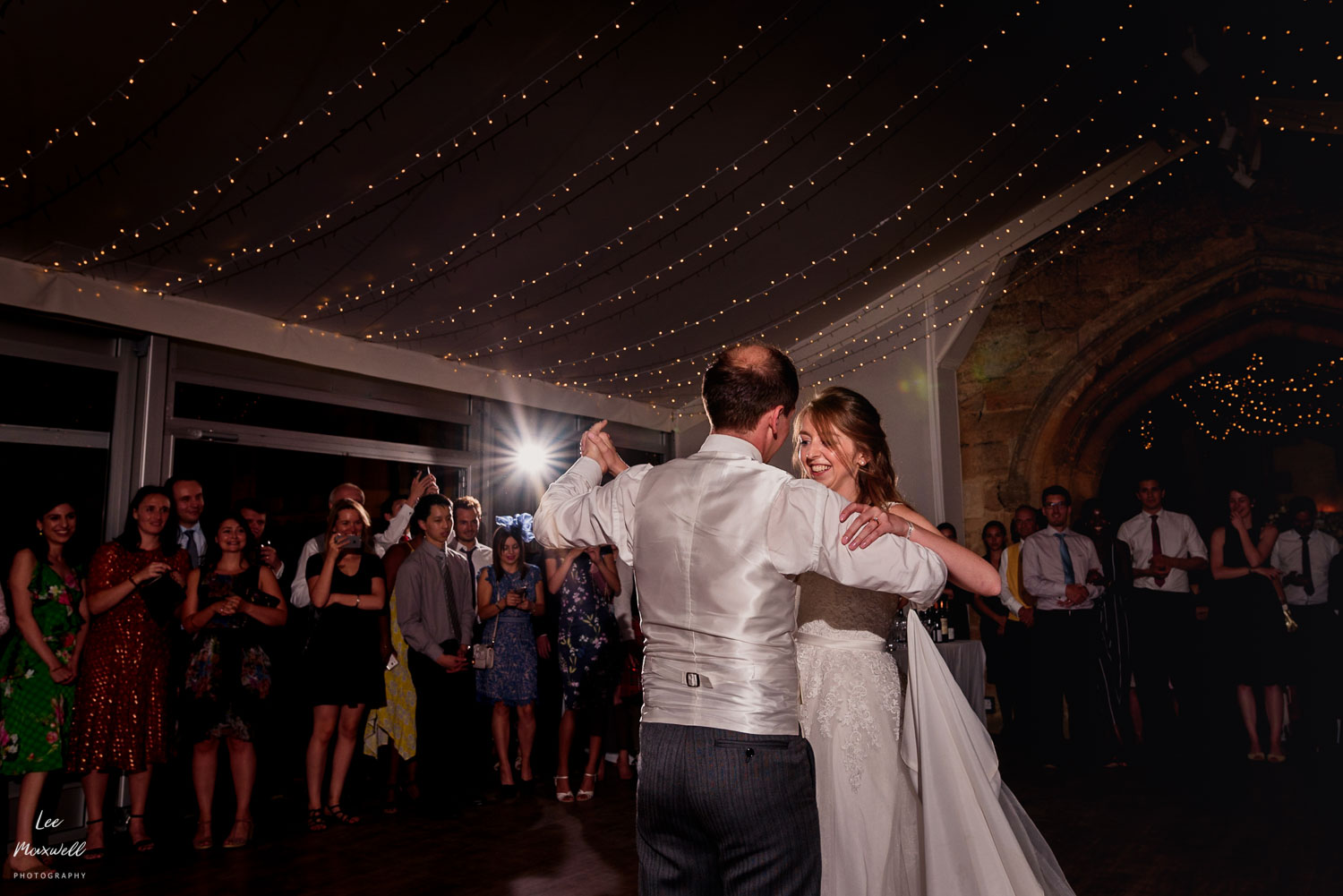 First dance at Sudeley Castle wedding