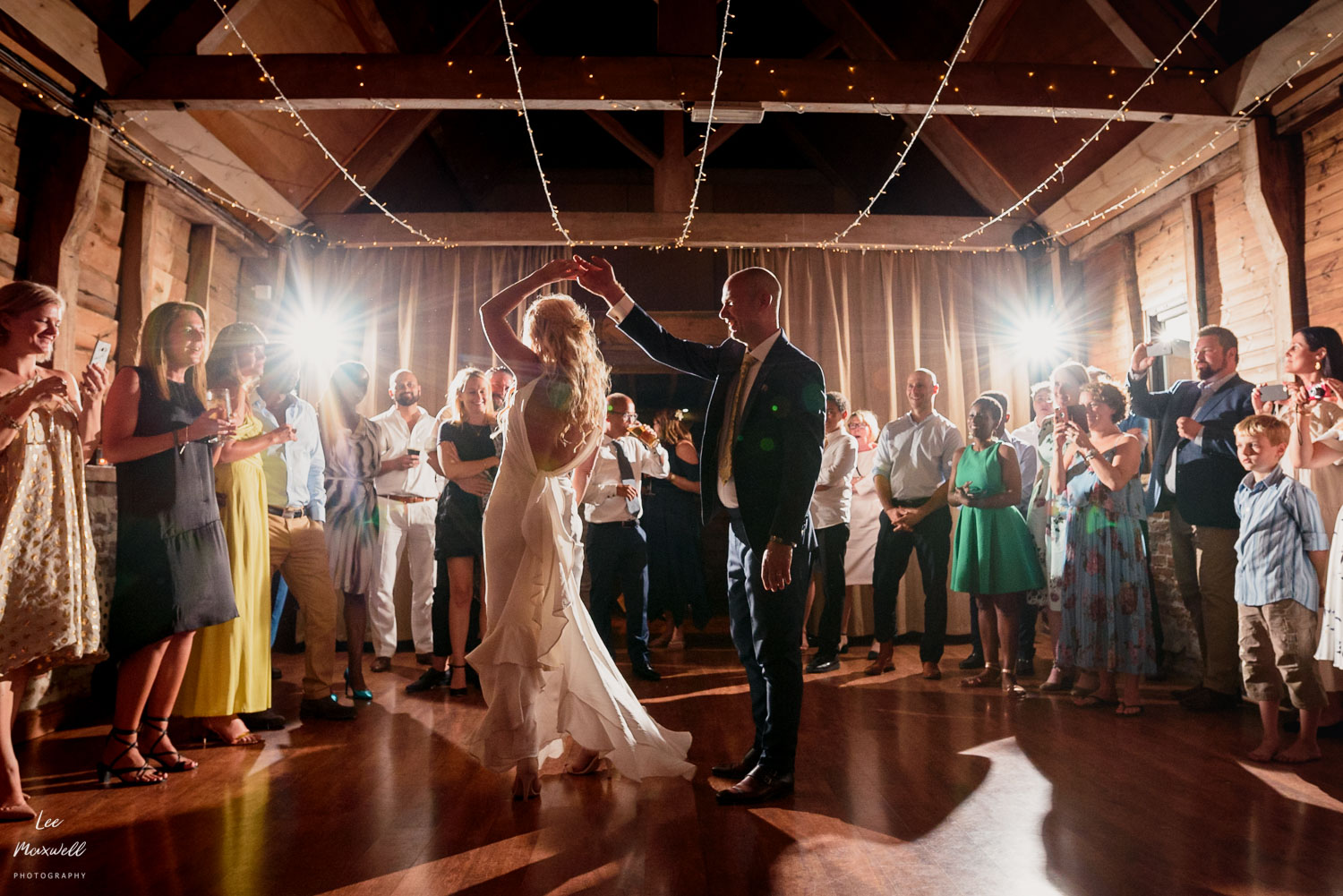 First dance at Wellington Barn