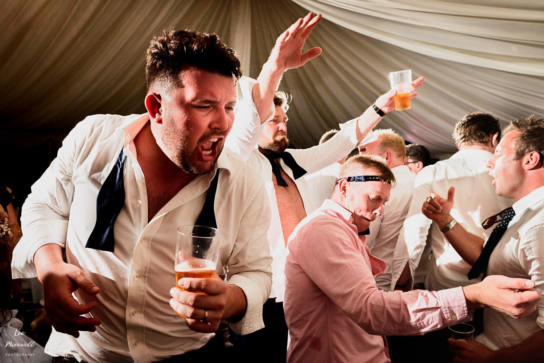 Crazy drunken dancing