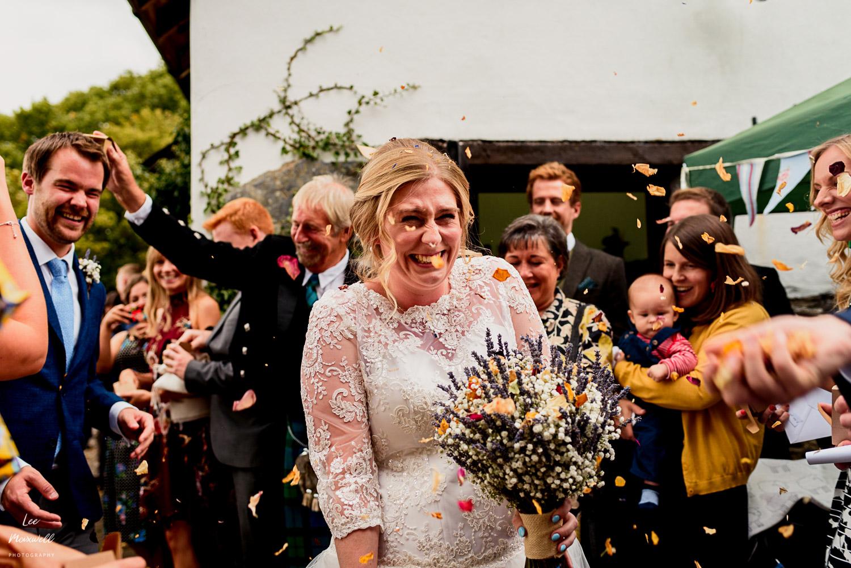 Wedding photography at Country Ways, Devon