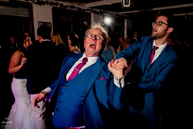 Dancing with bride's dad
