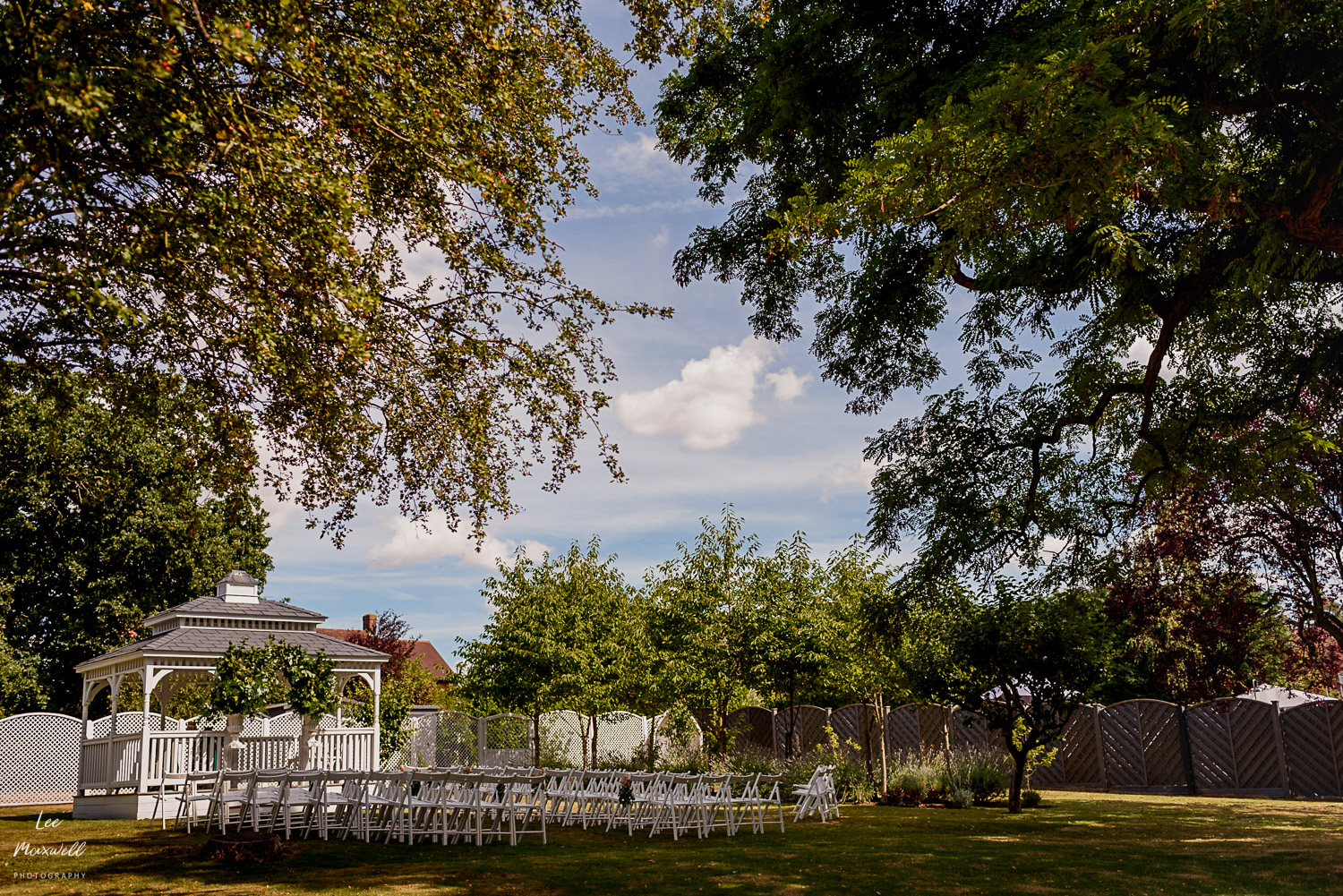 Summer wedding at The Old Vicarage