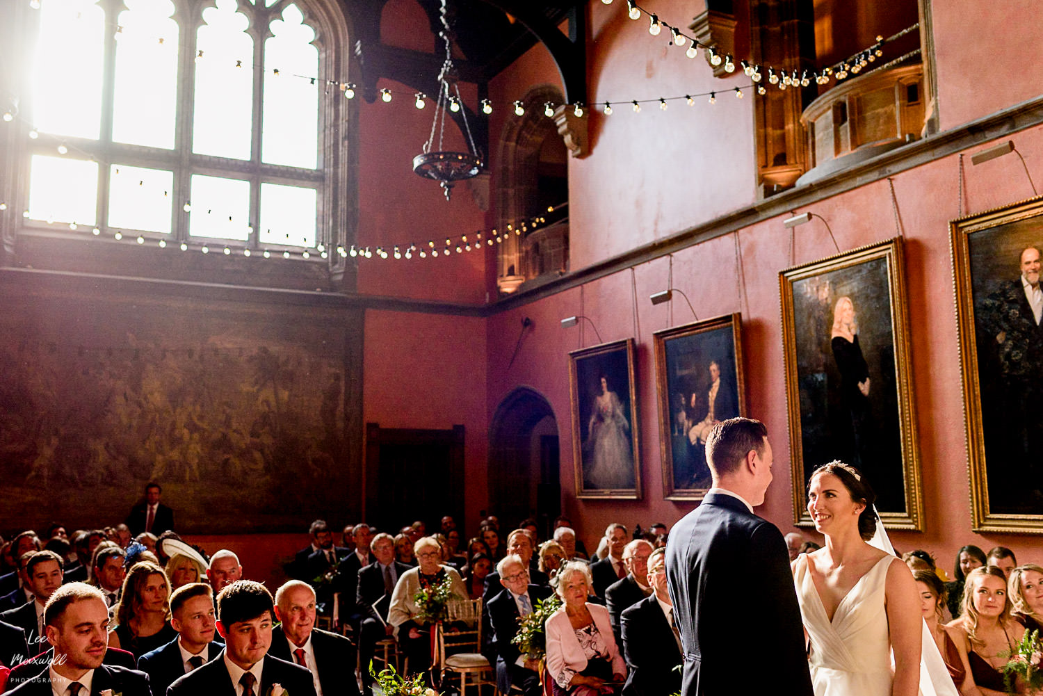 Bride and groom at Cowdray Estate