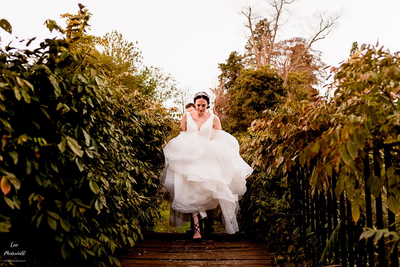 Bride at Cowdray Estate
