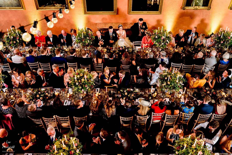 Wedding speeches at Cowdray Estate