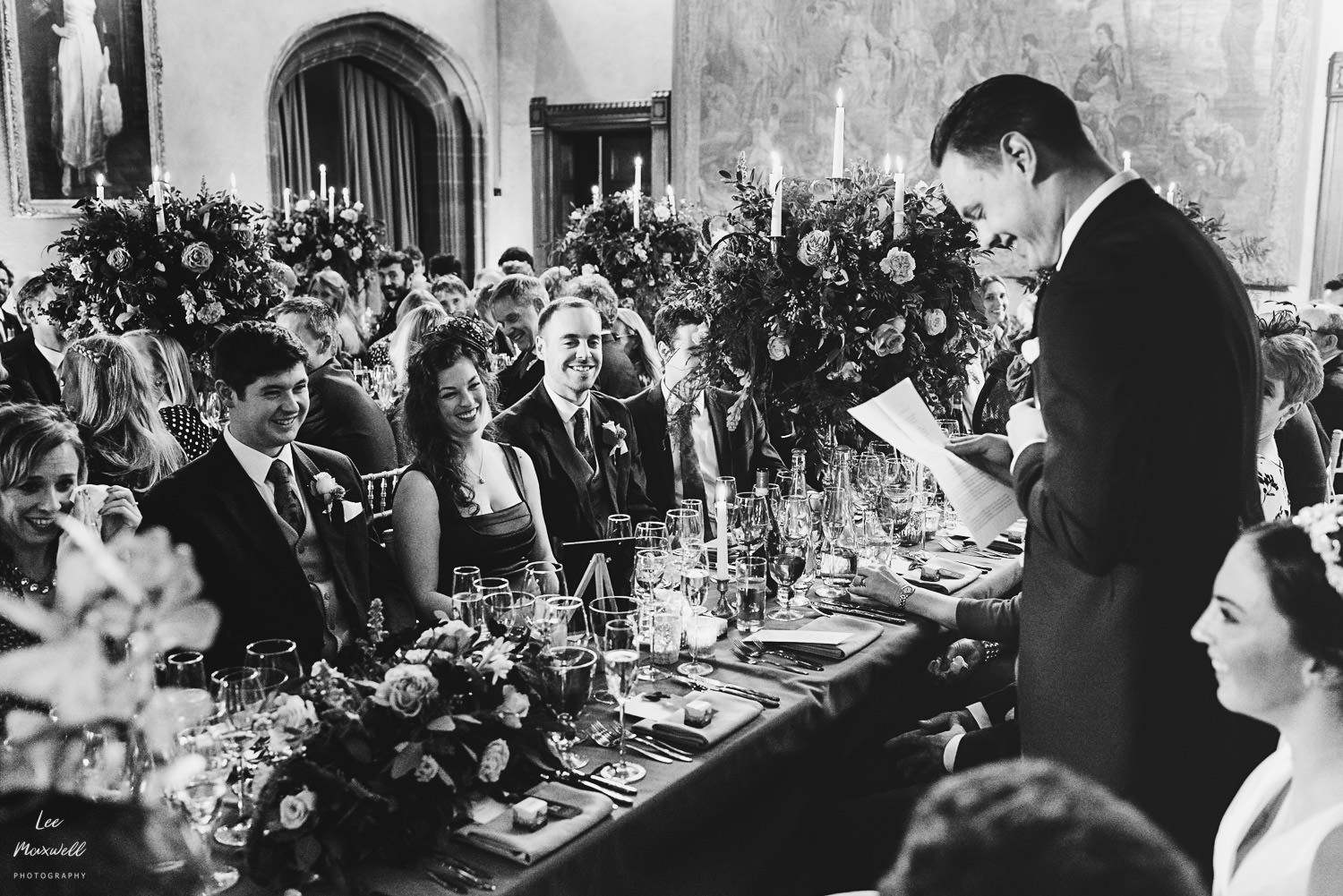 Grooms speech at Cowdray Estate