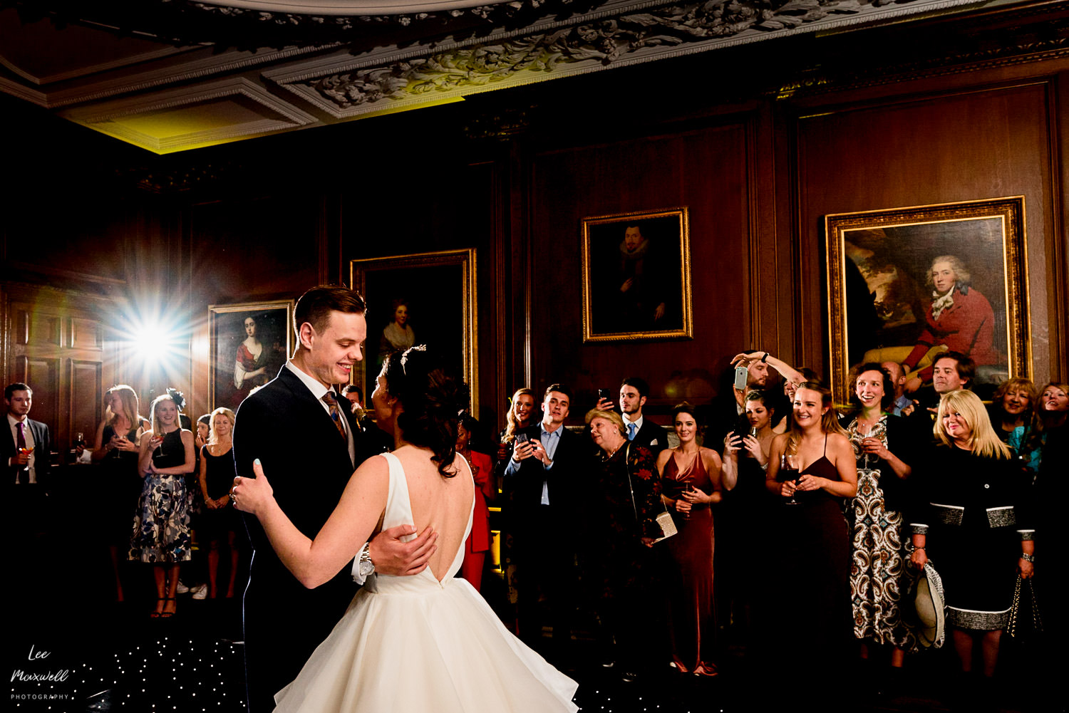 First dance at Cowdray Estate