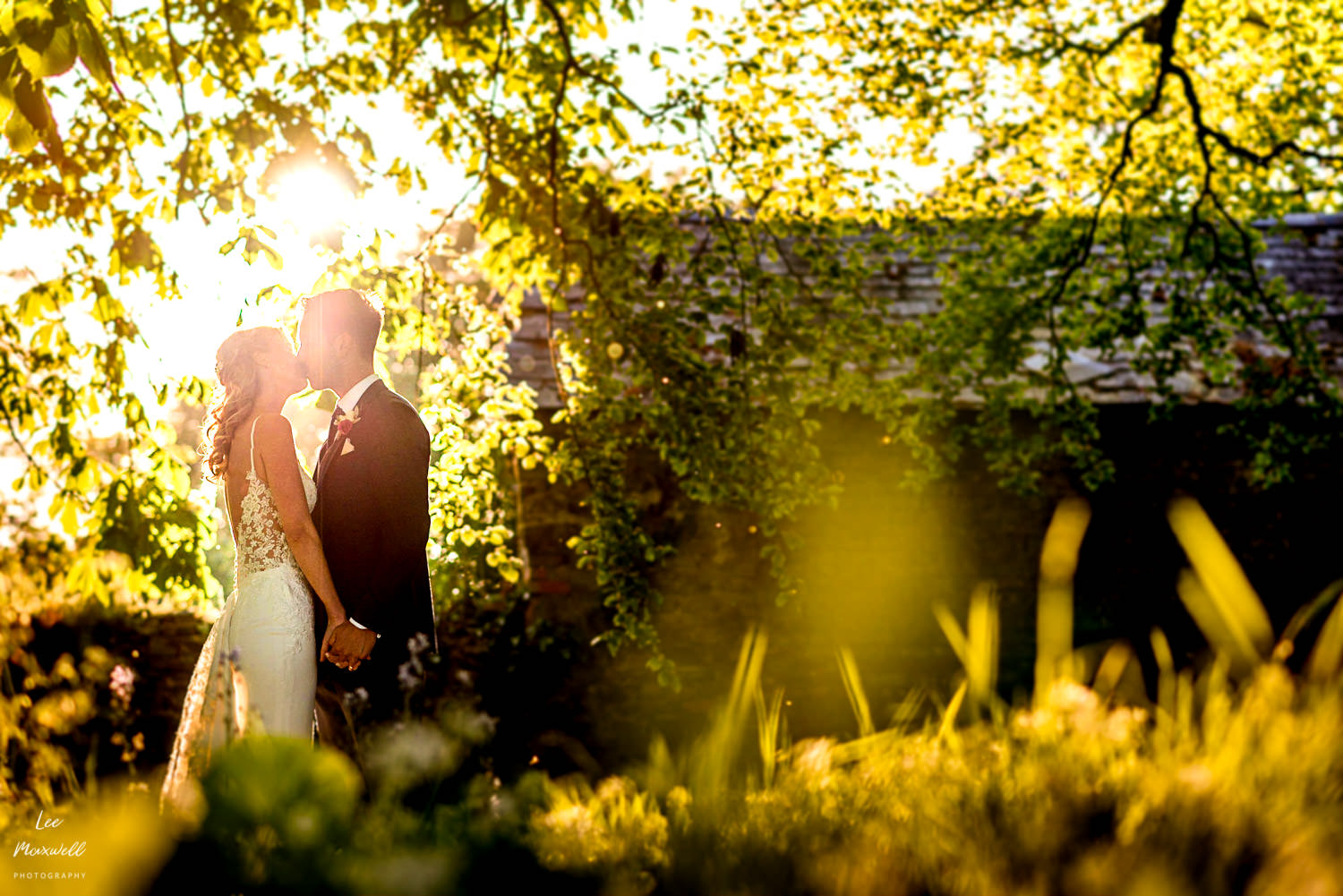 Wedding photography at Launcells Barton, Cornwall