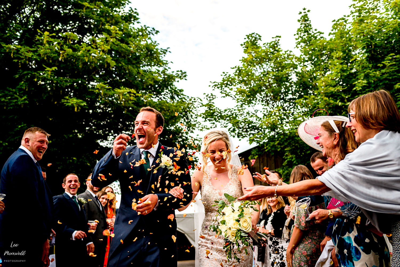 Wedding photography at The Barn At Barrons Hill