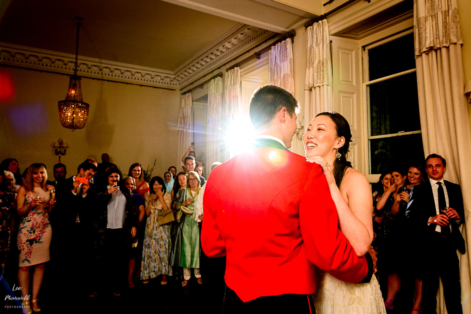 First dance at Pynes House wedding