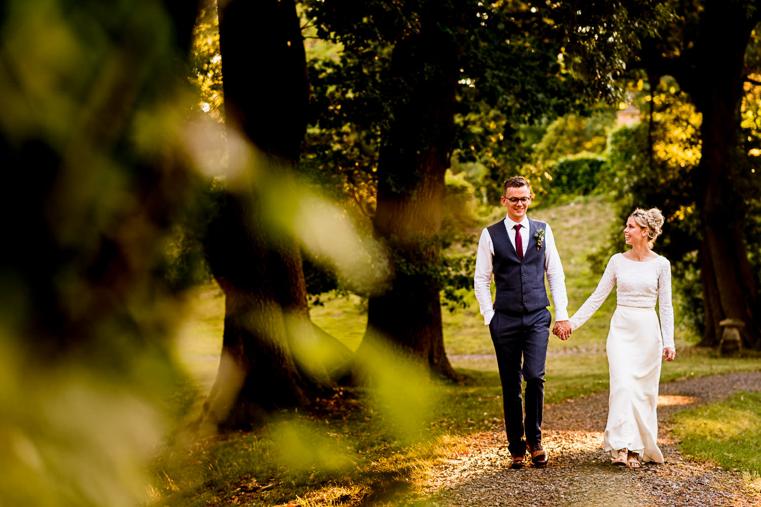 Wedding in Devon at Tracey Estate