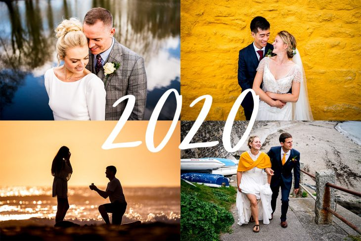Devon wedding photography from 2020