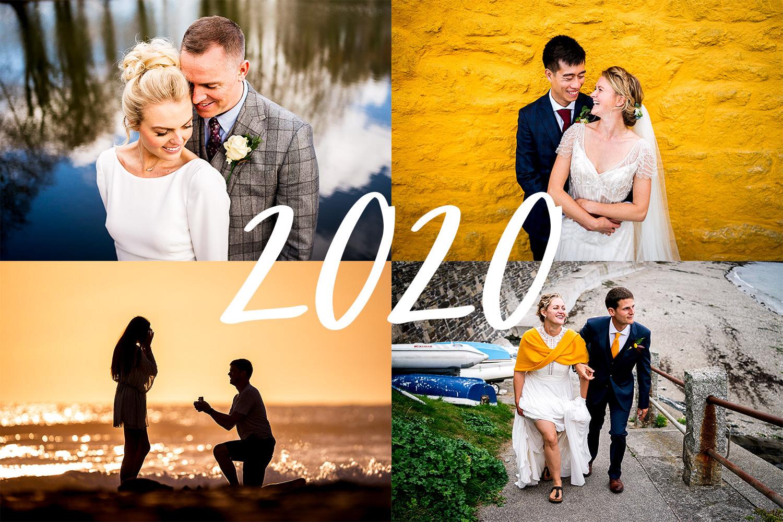 Devon wedding photography from 2020